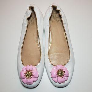 Lilly Pulitzer Women's 6 Ballet Flats Flower